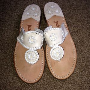 jack rogers Leather sandals Sz 7